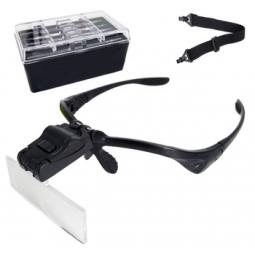 Ochelari cu Lupa si LED pentru Extensii Gene