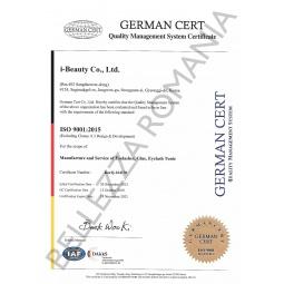 Certificat de calitate ibeauty Romania
